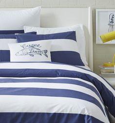 striped #blue bedding http://rstyle.me/n/mghhzr9te