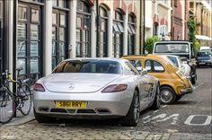 Fiat 500 vs Mercedes...