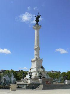 Esplanade des Quinconces et colonne des Girondins