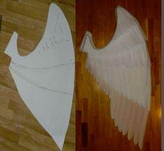 Angel Wings Costume, Cosplay Wings, Diy Angel Wings, Diy Wings, Christmas Dance Costumes, Biblical Costumes, Diy Nativity, Jewelry Design Drawing, Diy Crafts To Do