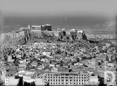 1929 ~ The Acropolis of Athens Athens Acropolis, Parthenon, Athens Greece, Mykonos, Old Photos, Vintage Photos, Greek History, What A Wonderful World, Ancient Greece