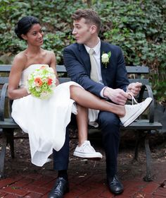 Converse for your wedding?! YASSSSSS