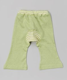 Loving this Sage Green Organic Monkey Pants - Infant on #zulily! #zulilyfinds