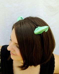 Pale Green Dragon Horns Forest Dragon Forest by RuthNoreDesigns, $16.00