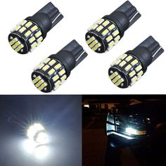 Description This listing features wedge 3014 SMD LED bulbs especially designed for car interior map or dome light,car license plate light,side courtesy light,etc. T10 Led, Car Led Lights, Light Side, Super White, Rv Campers, Things To Buy, Jdm, Light Bulb