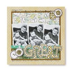 Great Pens Scrapbooking Layout Idea from Creative Memories #scrapbooking    http://www.creativememories.com