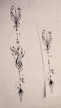 Arrow tattoo #tattoosforwomenonthigh