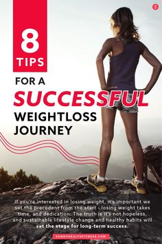 If you're ready to get started on a weight loss journey, check out the 8 steps below that will help you start off your journey on the right foot! #sunnyhealthfitness #weightloss #weightlossjourney #weightlossstrategies