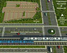 7 oak greens dholera smart city residential plots - 91 8511144396
