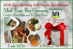 Meal Time Box Giveaway (Comfort Food Delivered To Your Door!) ~ 4 Winners! ($200 TRV) ~ Ends 12/23 @mealtimebox #SMGN ~ Tales From A Southern Mom