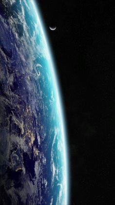 Fragile planet in hostile void