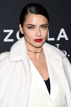 """Adriana Lima attends the """"Zoolander 2"""" World Premiere at Alice Tully Hall on February 9, 2016 in New York City."""