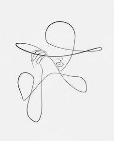 Minimalist Tattoo Designs - Page 18 of 95 - CoCohots Minimalist Drawing, Minimalist Art, Art Sketches, Art Drawings, Tattoo Sketches, Tattoo Drawings, Line Art Tattoos, Art Abstrait Ligne, Outline Art