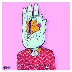 I'm OK with you  it's all right  #artwork #illustration #hand #digital #drawing #muklayillustration by muklay