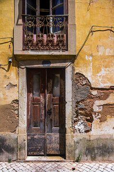 Ruined Yellow House