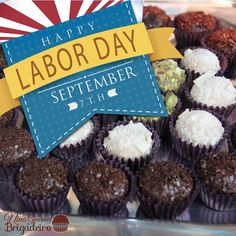 We would like to wish you and your family a Happy Labor Day! Reminding that our Labor Day Sale ends tonight!  #sale #ends #tonight #laborDay #LaborDaySale #happy #family #enjoy #brigadeiro #chocolate #love