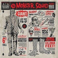 Music Albums: Monster Squad (Original Soundtrack) [New Vinyl Lp] Uk - Import -> BUY IT NOW ONLY: $38.99 on eBay!