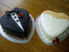 Bride and Groom Cake!