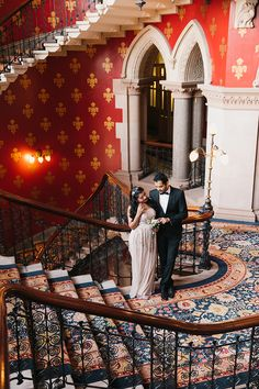 couples anniversary photo shoot London Kings Cross St Pancras hotel (7)