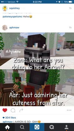 No what r u doing Aaron?