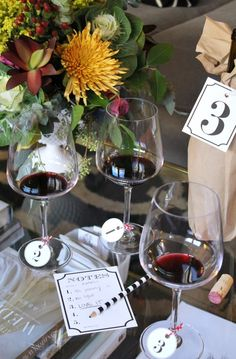 mint love social club: {holiday party idea: blind wine tasting}