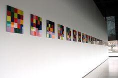 13 Gerhard Richter: Installation shots of Panorama, Neue und Alte Nationalgalerie, Berlin Feb - May 2012