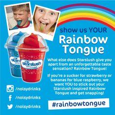 #Starslush #rainbowtongue