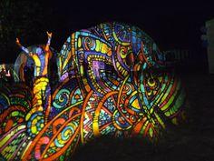 Hegyalja festival (Tokaj, Hungary) 2013 Night projection's raypainting #hegyalja #hegyaljafesztival #hegyaljafesztival2013 #tokaj #nightprojection #raypainting #visual