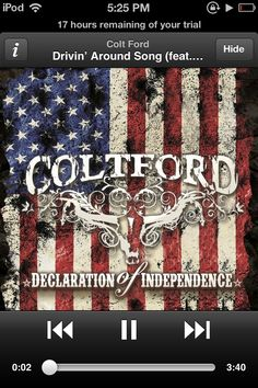 This is for everybody out there circlin the town square -Colt Ford and Jason Aldean