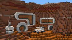I took the hobbit hole concept to space : Minecraft Minecraft Modern Mansion, Minecraft House Designs, Cool Minecraft Houses, Minecraft Creations, Minecraft Buildings, Minecraft Building Blueprints, Minecraft Plans, Minecraft Tutorial, Minecraft Survival