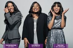 The powerful three Shonda ,Judy and Kerry