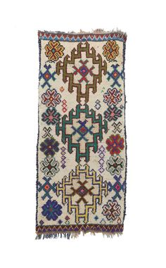 Boucherouite Vintage Rugs cm) - x feet ) Ref - Surcoma Import Export Berber Carpet, Geometric Rug, Pink Rug, Small Rugs, Rug Making, Bohemian Decor, Vintage Rugs, Traveling By Yourself, Moroccan