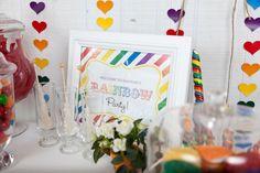 Tema de festa: Arco-íris! : Mil dicas de mãe