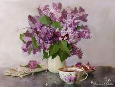 Lilacs Painting Lilac still life show your