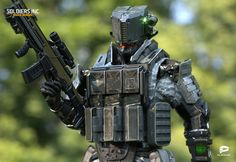 ArtStation - Soldiers Inc: Mobile Warfare, Plarium Ukraine