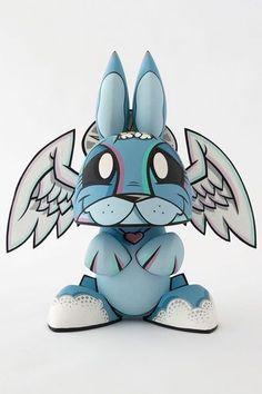 Angel bunny joe ledbetter mutant bunny
