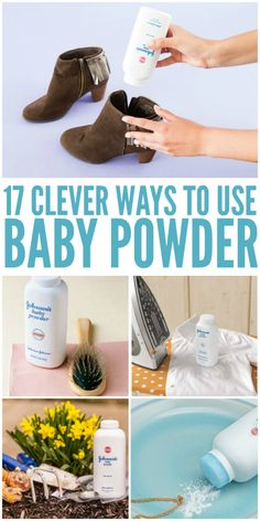 how to get rid of ants baby powder
