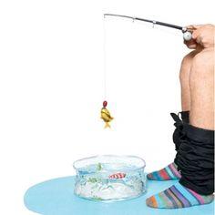 Juego pesca WC