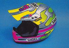 Jeff Ward's 1990 Troy Lee Designs Shoei   Flickr - Photo Sharing!