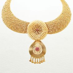 Designed around the idea of seven, #Azva is a perfect reminder of your seven #vows! #Bride #Gold #Jewellery