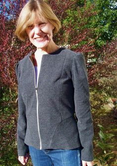 new to me: Sewaholic Cordova jacket Indie, Peplum, Sew, Stitch, Pretty, Sleeves, Jackets, Fashion, Down Jackets