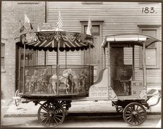 Fotos Antiguas de atracciones mecánicas