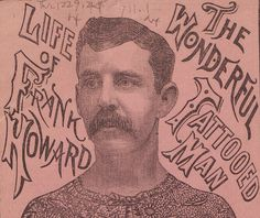 The 19th-Century Story of the Wonderful Tattoed Man