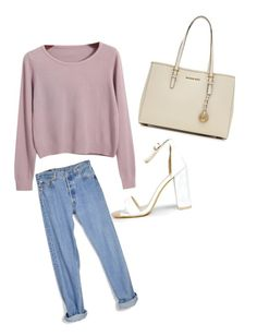 """Untitled #7"" by itsgigihadid ❤ liked on Polyvore featuring Boohoo, MICHAEL Michael Kors, Chicnova Fashion, Levi's, StreetStyle, styleicon, beautyset and newchic"