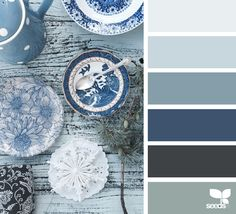 color blues | design seeds | Bloglovin'. Beautiful Style Living. Follow @SteinTeamNYC