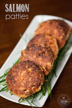 You Have Meals Poisoning More Normally Than You're Thinking That These Salmon Patties Made From Wild Caught Canned Red Salmon Are An Absolute Dinner Time Favorite In Our House And Are The Best I've Ever Tasted. Canned Salmon Recipes, Fish Recipes, Seafood Recipes, Cooking Recipes, Healthy Recipes, Healthy Snacks, Fish Dishes, Seafood Dishes, Main Dishes