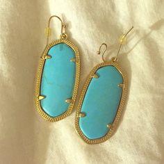 Kendra Scott Elle Earrings Kendra Scott Elle Earrings in turquoise Kendra Scott Jewelry Earrings