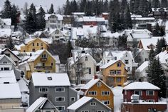 A general view of the Snow-covered city of Tromso, Northern Norway on March 08, 2017. Tromsø is located 350 kilometres north of the Arctic Circle and is the largest city in Northern Norway. It's famed as a viewing point for colorful Northern Lights that sometime light up the nighttime sky. Photo by Gili Yaari/Flash90 *** Local Caption *** ???????? ?????? ???? ?????? ????? ??? ?????