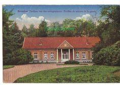 Pavillon du ministre de la guerre en Belgique.