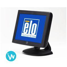 """Optez pour un écran tactile compact, fiable et économique avec l'écran tactile 12"""" Elotouch 1215L, disponible immédiatement sur www.waapos.com"""